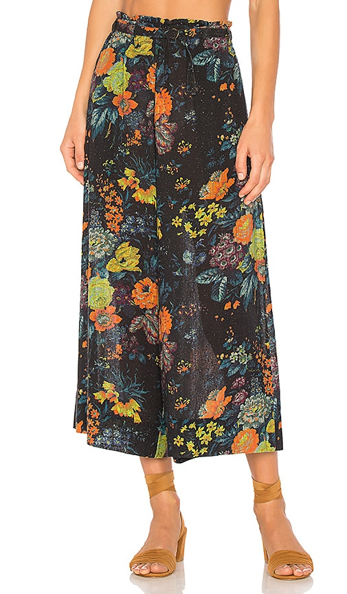 Raquel Allegra Party Pant in Navy