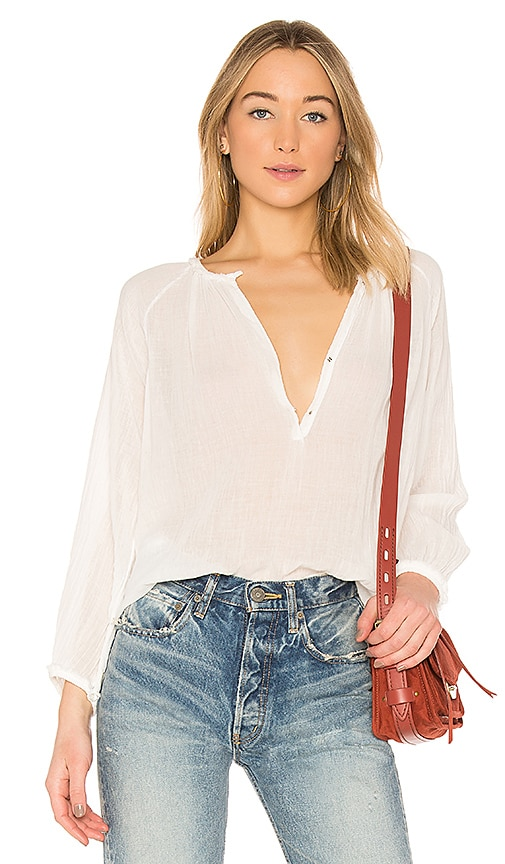 Raquel Allegra Dreamer Blouse in White