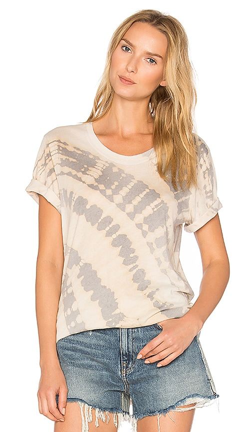 Raquel Allegra Shred Tee in Beige