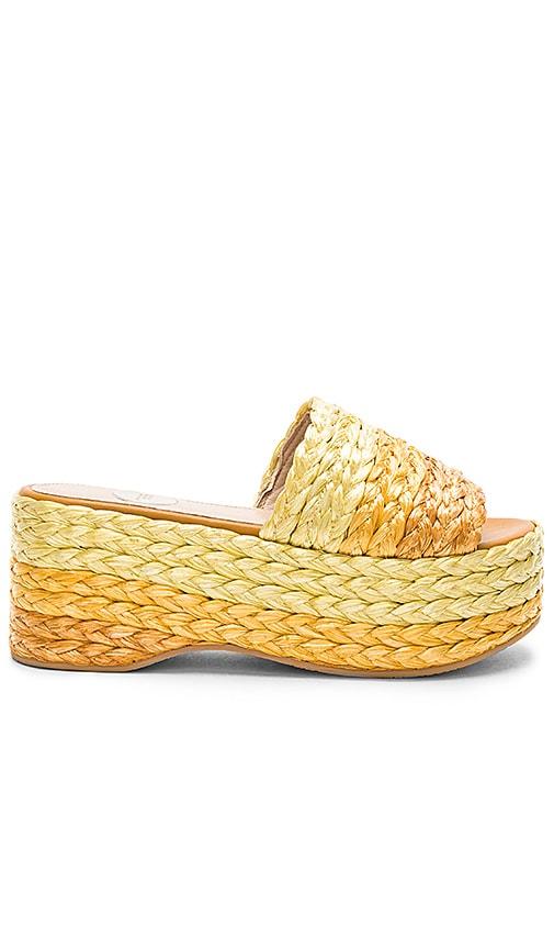 RAS Diva Sandal in Yellow