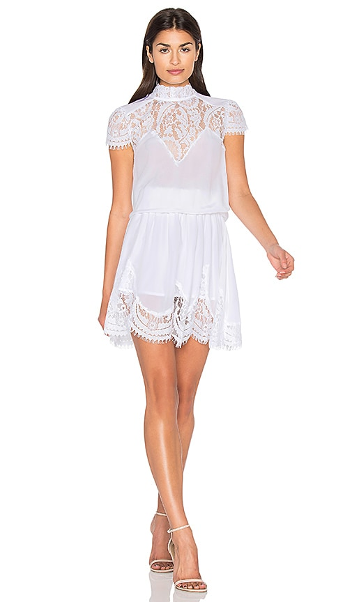 RAVN Nela Dress in White