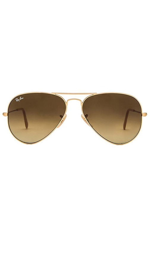 Ray-Ban Aviator Gradient in Brown
