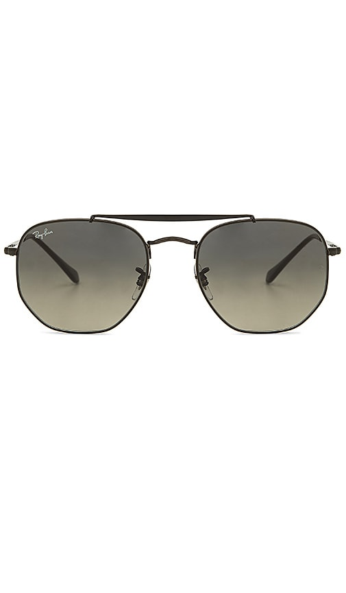 b2ce75cad5 Ray-Ban Marshal in Black   Grey Green