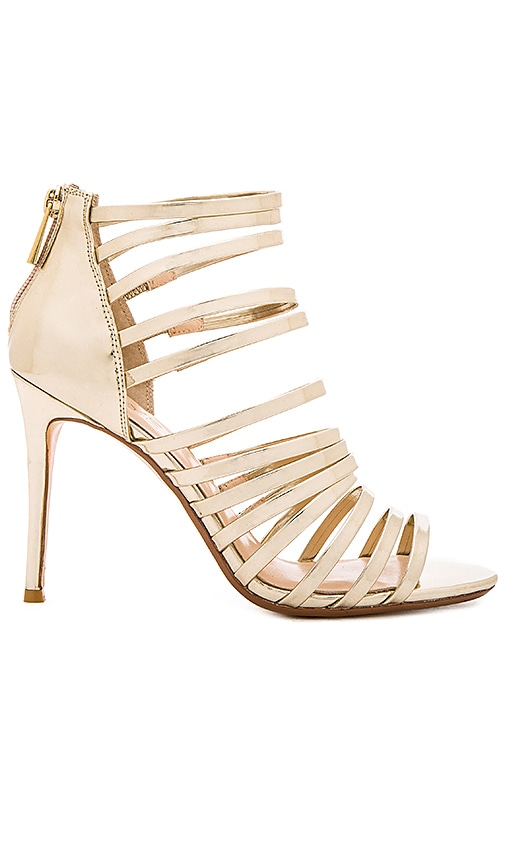 RAYE x REVOLVE Brielle Heel in Metallic Gold