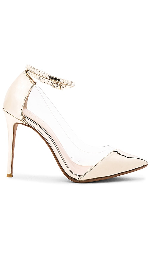 RAYE Tara Pump in Metallic Gold