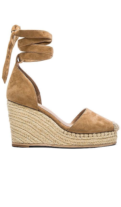 RAYE Dahlia Espadrille Wedge in Tan