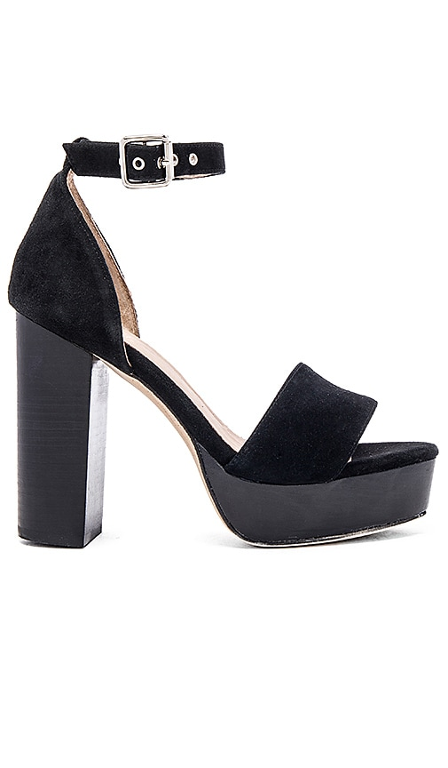 RAYE Hannah Platform in Black