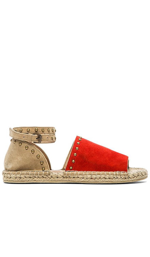 RAYE Deb Espadrille in Red