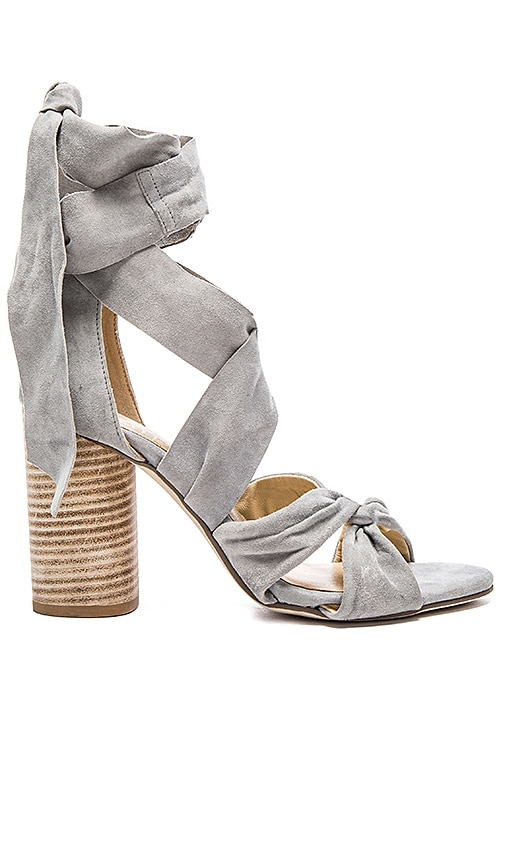 RAYE x For Love & Lemons Myra Heel in Light Gray