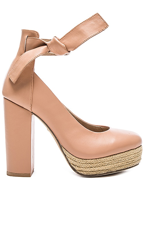 RAYE x For Love & Lemons Harper Heel in Blush