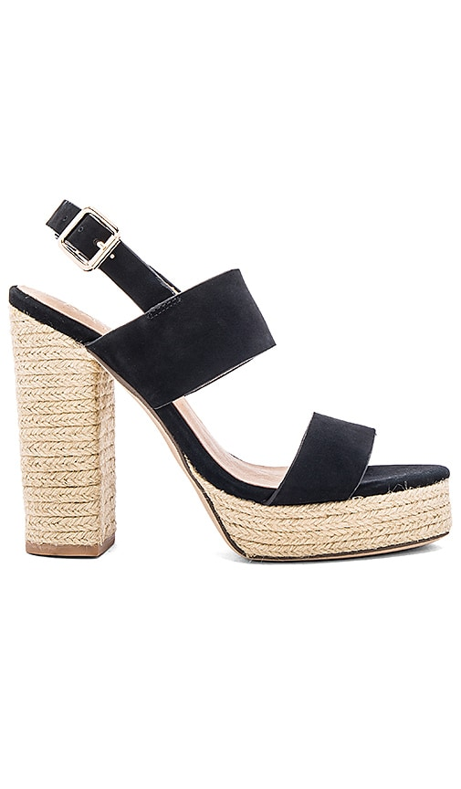 RAYE Halle Platform in Black