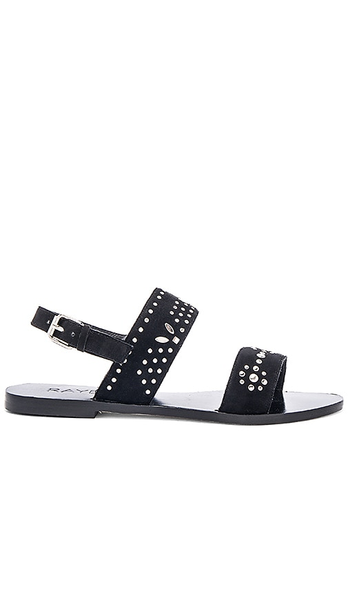 RAYE Sedona Sandal in Black