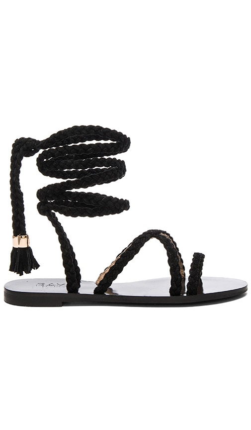 RAYE Sadie Sandal in Black
