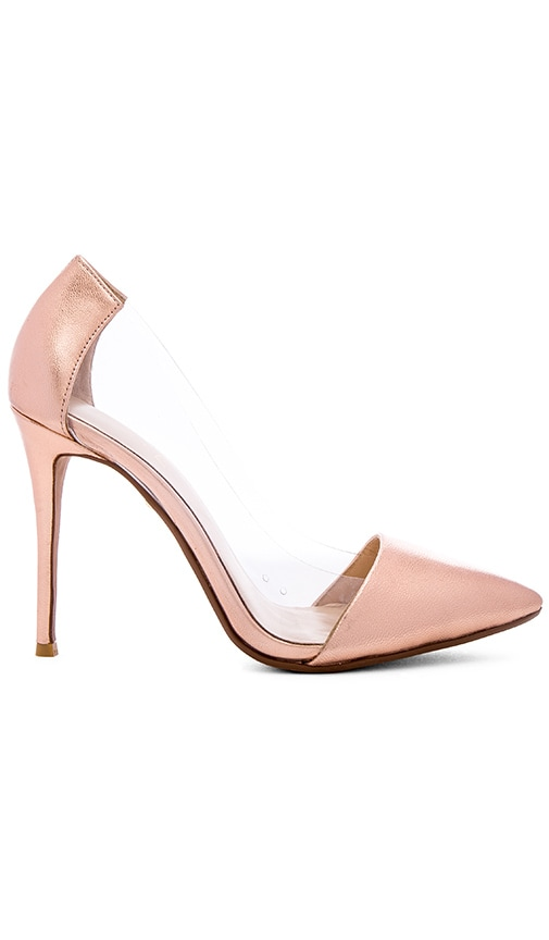 RAYE Terry Pump in Metallic Copper