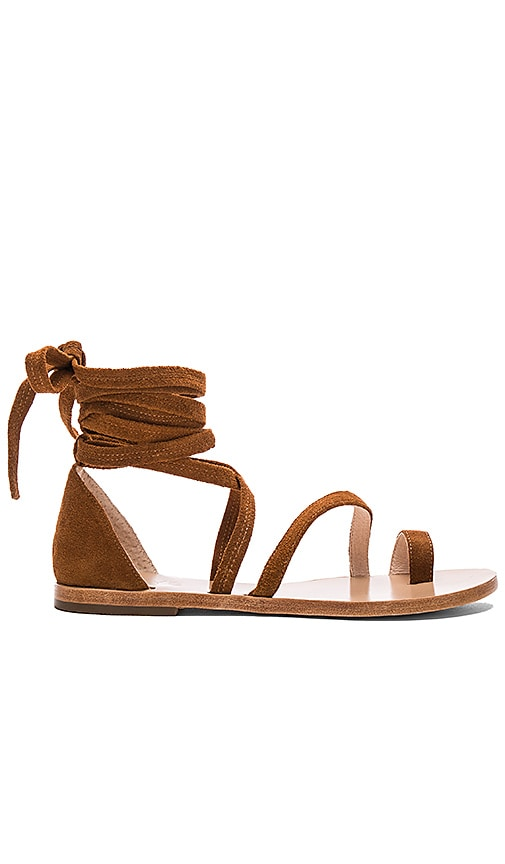 RAYE Sloane Sandal in Whiskey