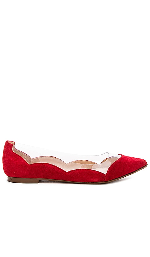 RAYE Polly Flat in Ruby