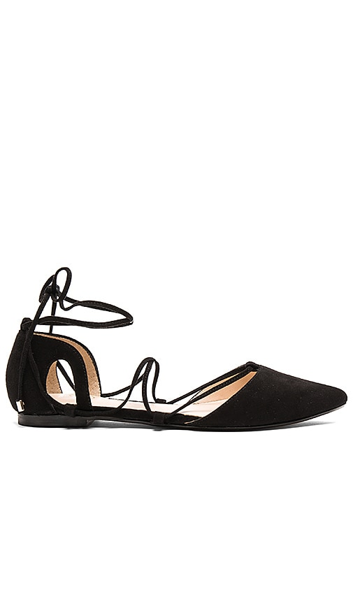 RAYE Pepper Flat in Black