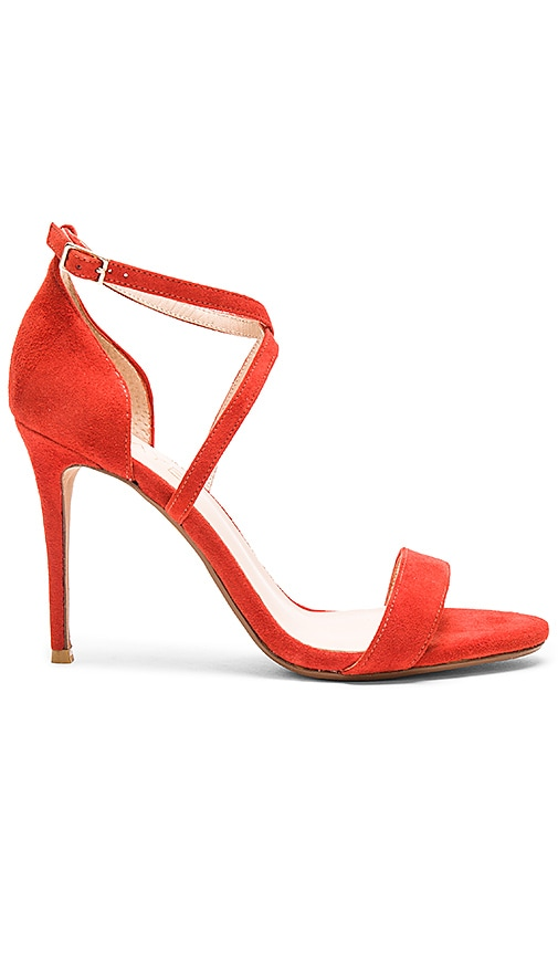 RAYE Brady Heel in Red