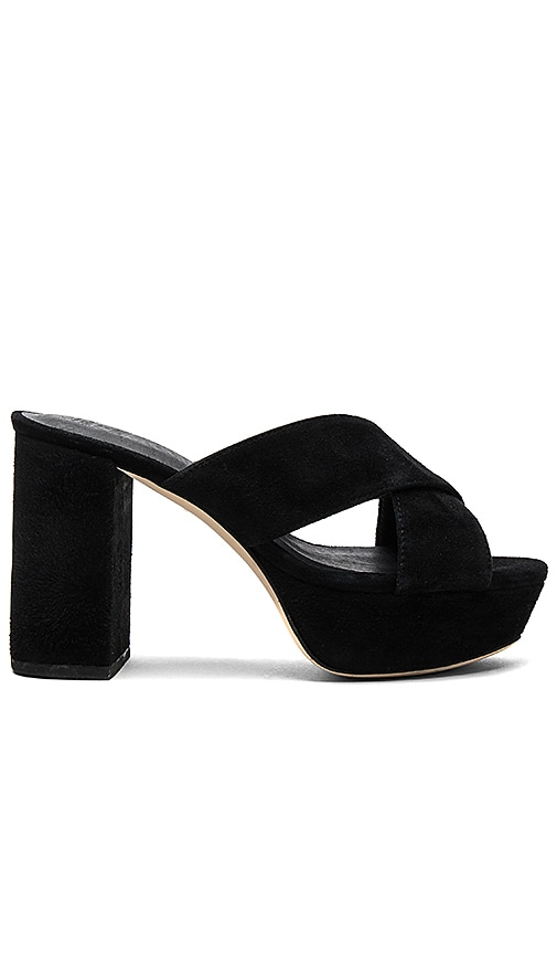 RAYE x STONE_COLD_FOX Petra Heel in Black