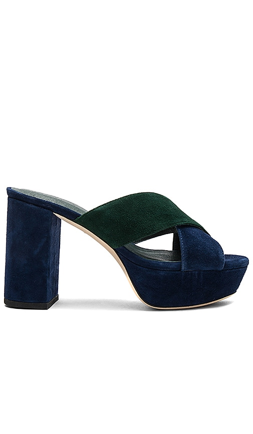 RAYE x STONE_COLD_FOX Petra Heel in Navy