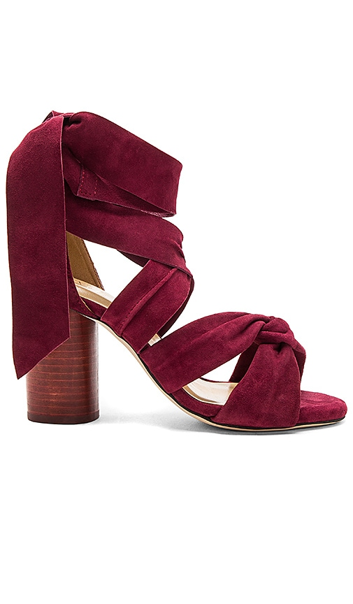 RAYE Myra Heel in Burgundy