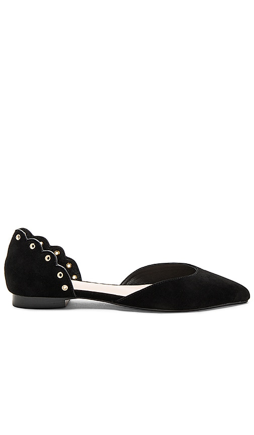 RAYE Pemberley Flat in Black