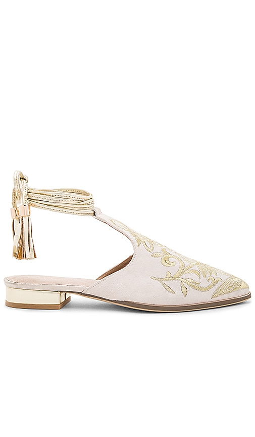 x REVOLVE Kate Embroidered Slide