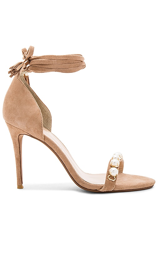 RAYE Bennie Heel with Pearl in Tan