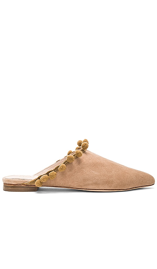 RAYE Jasmin Flat in Tan