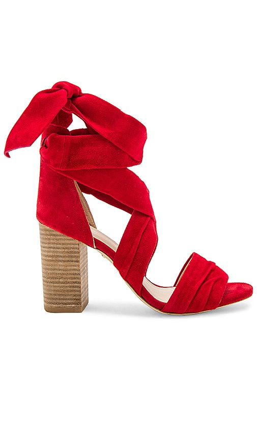 RAYE Maggie Heel in Red