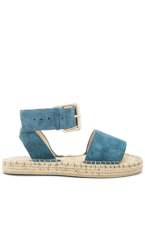 RAYE Damien Flatform Sandal in Blue