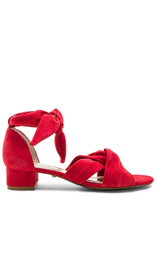 RAYE Aurora Sandal in Red