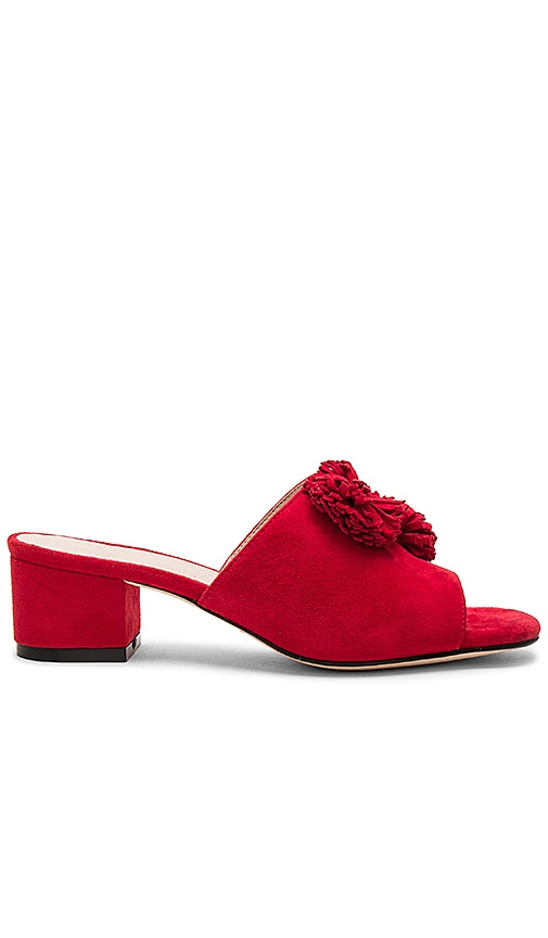 RAYE Chrissy Mule in Red