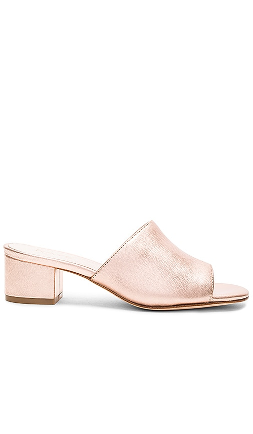 RAYE Cara Mule in Metallic Copper