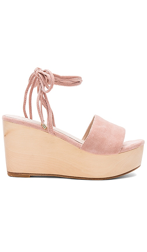 RAYE Finley Wedge in Blush