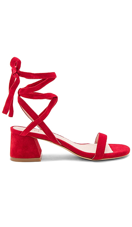 RAYE Candy Sandal in Red