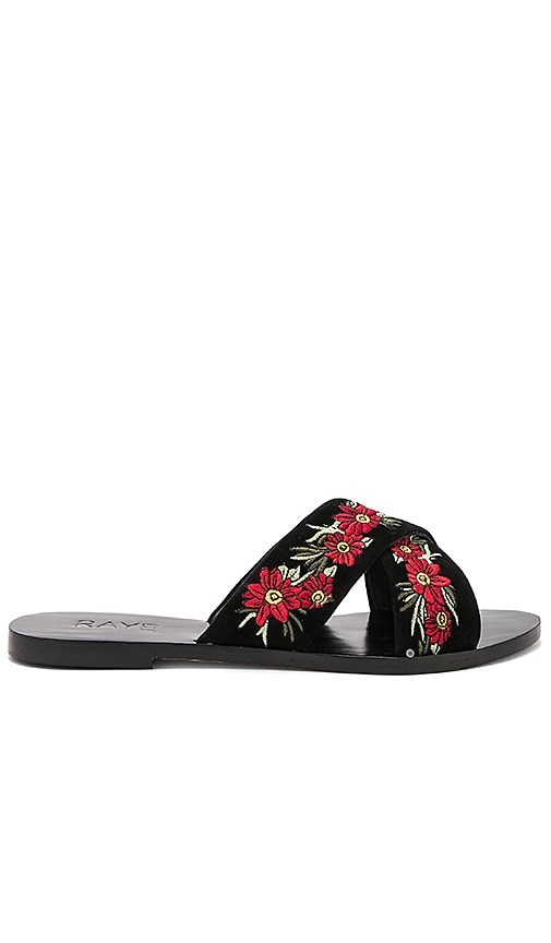 RAYE Sully Sandal in Black