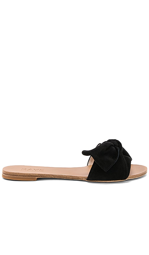 RAYE Sandy Sandal in Black