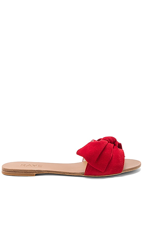 RAYE Sandy Sandal in Red