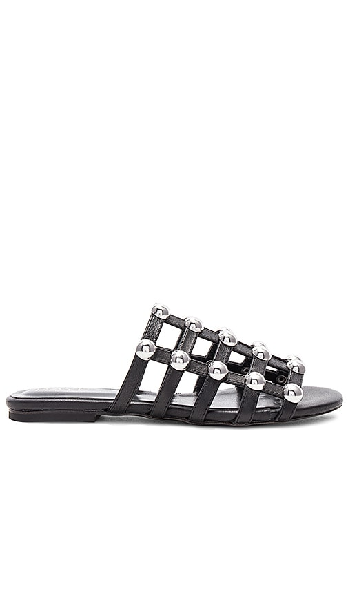 Tinsley Slide in Black. - size 7 (also in 5.5,6.5,7.5,8.5) Raye