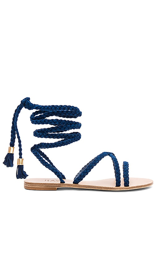 RAYE x REVOLVE Sadie Braid Sandal in Royal
