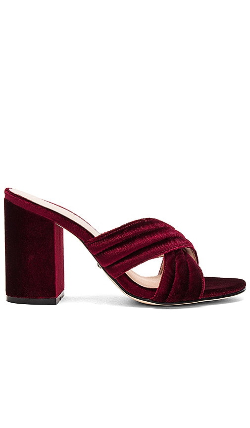 RAYE Bella Mule in Burgundy