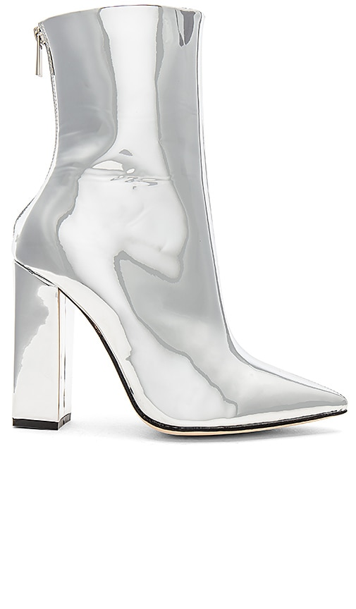 RAYE x REVOLVE Riley Bootie in Metallic Silver