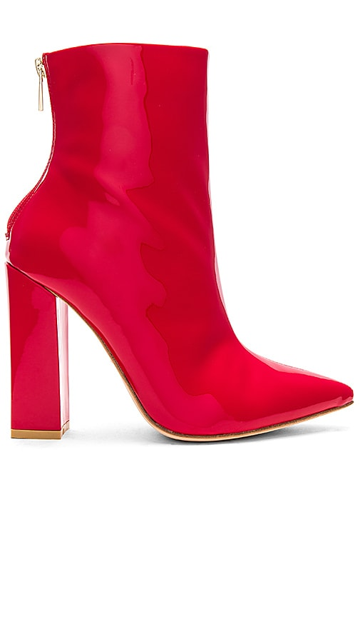 RAYE Parker Boot in Red