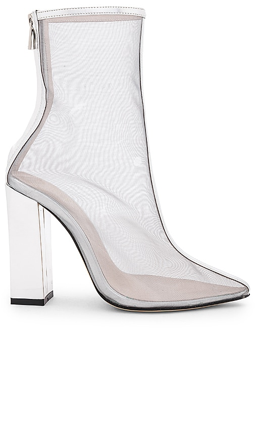 RAYE Morgan Boot in Silver