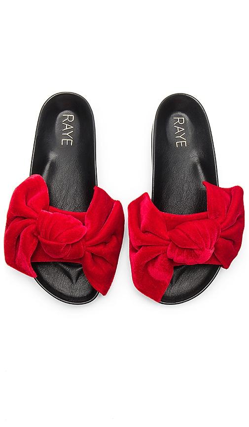 RAYE Bex Sandal in Red