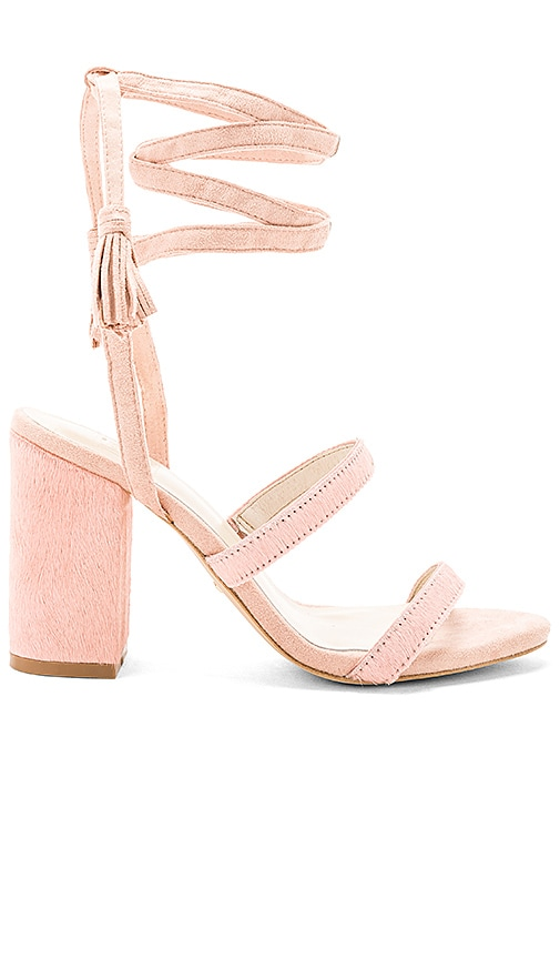 RAYE x STONE_COLD_FOX Henna Calf Hair Sandal in Pink