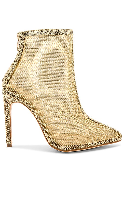 RAYE Tatiana Bootie in Metallic Gold