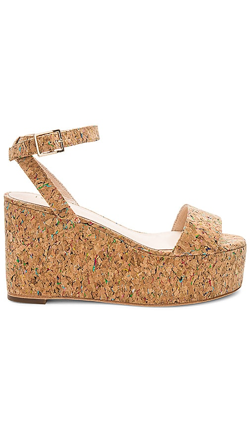 RAYE Olly Wedge in Tan