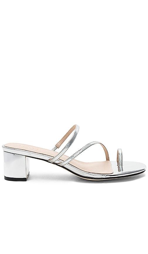 RAYE Lucy Sandal in Metallic Silver